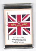 CHESHIRE REGIMENT COLOURS 1802 LARGE FRIDGE MAGNET